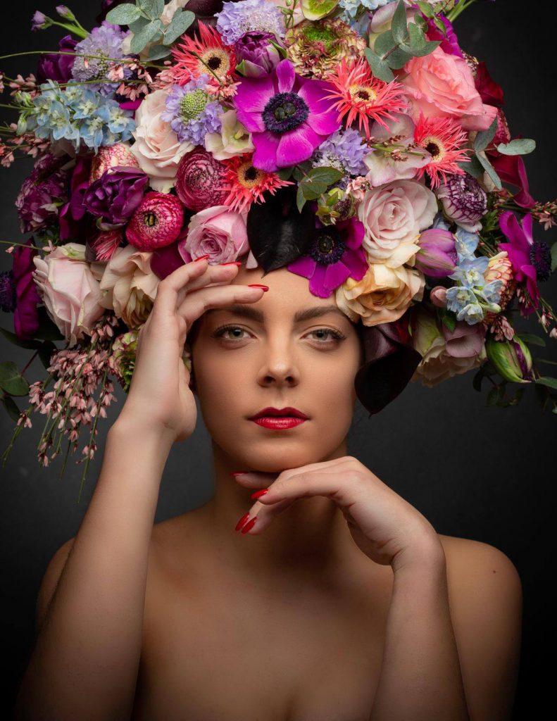 Visagie bloem Manissimo Rhenen
